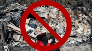 ubique en áreas cercanas a fuentes de calor, debido a que podría producirse una falsa alarma.